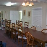Personal Care Home Dining Area